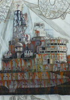 link to HMS Belfast by Hew Locke
